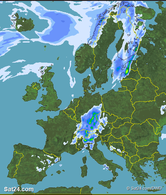 Forecast Weather Europe Satellite Weather Europe Weather Forecast