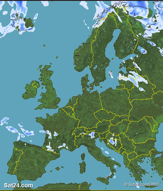 forecast Weather Europe, Satellite Weather Europe, Weather Forecast ...