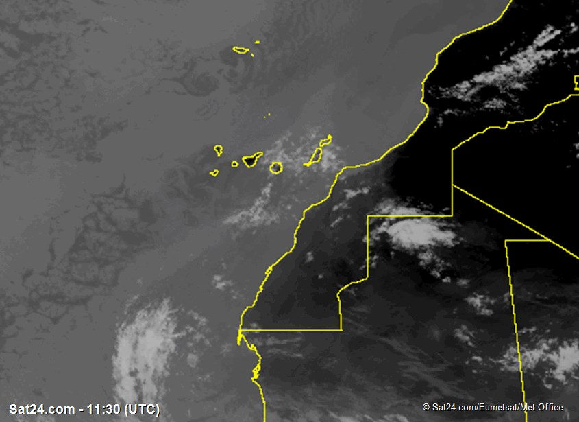 Meteosat - infrarosso - Madera - Isole Canarie