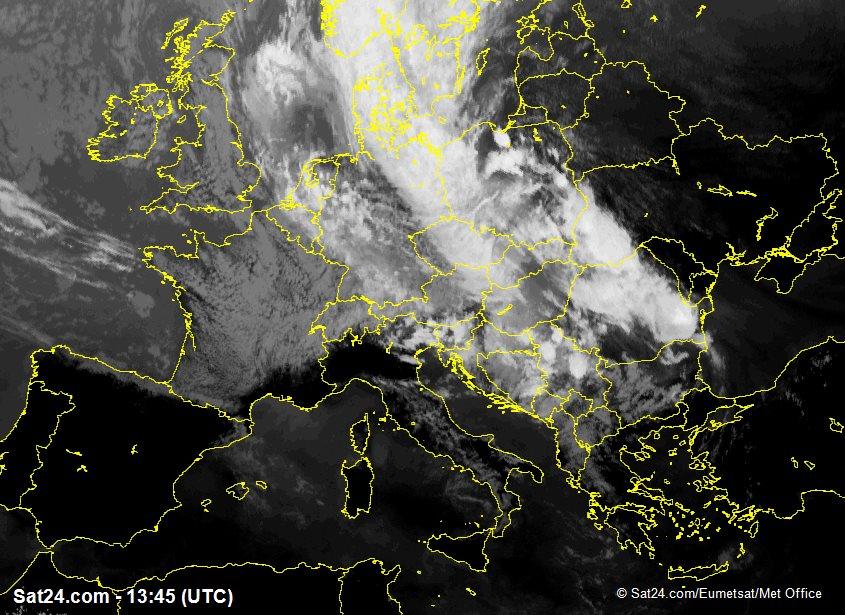 Meteosat - infrared - Germany