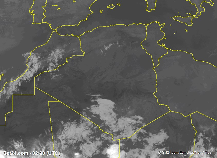 Meteosat - 红外 - 阿尔及利亚 - 突尼斯