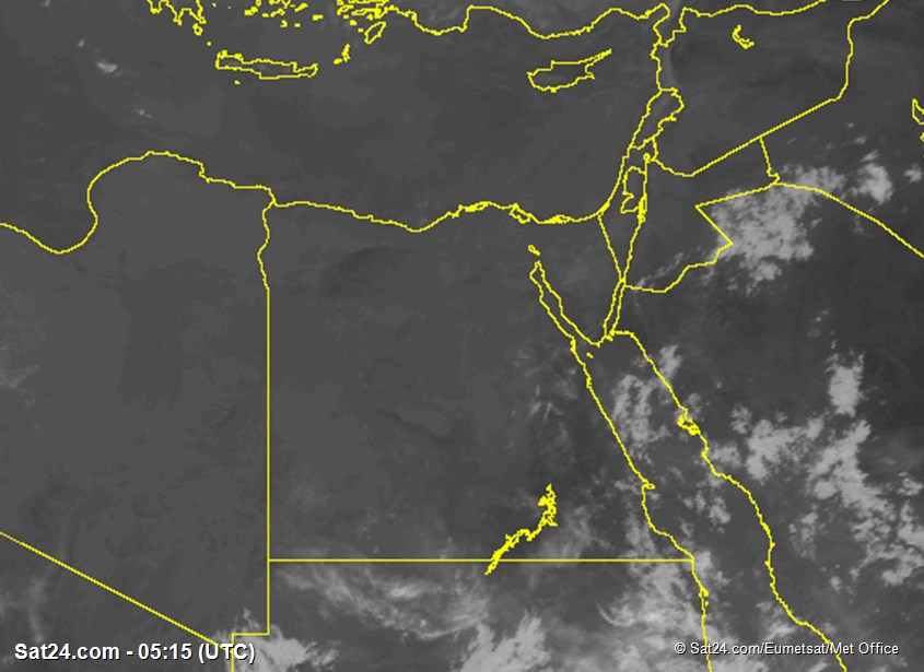 Meteosat - infrared - Egypt