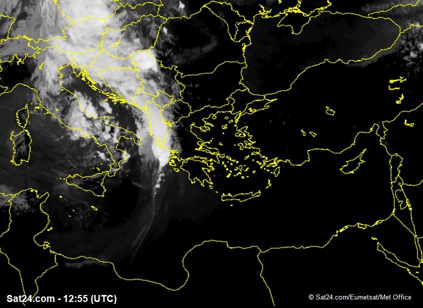 Meteosat - infrared - Greece