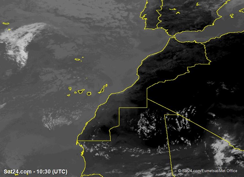 Meteosat - infrarosso - Marocco