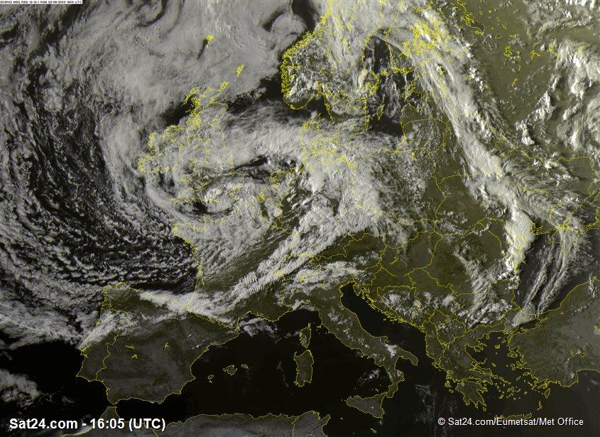 Meteosat - visible - Europa