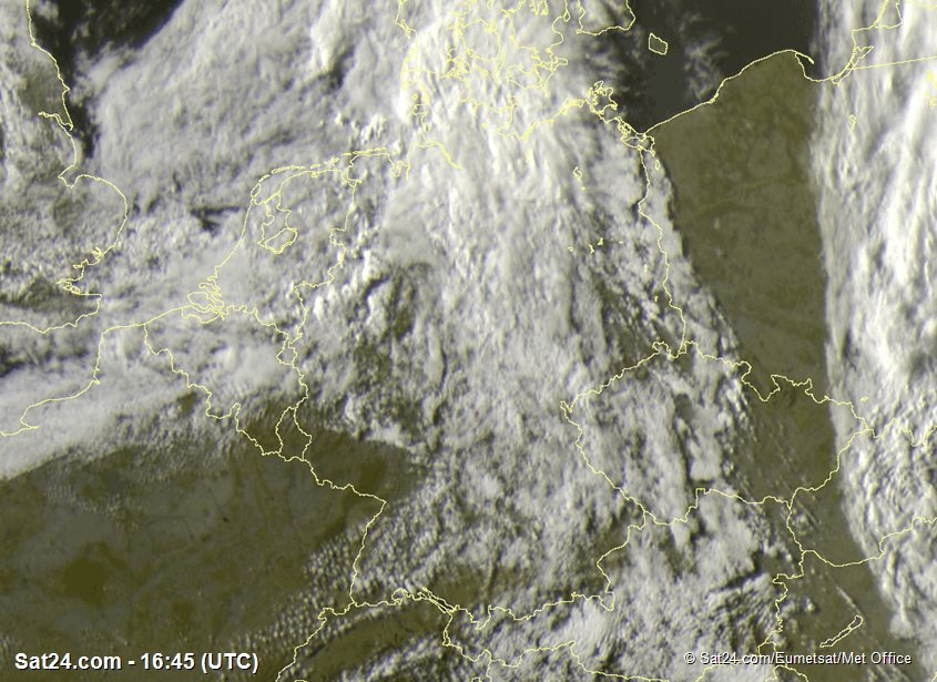Meteosat - visibile - Germania