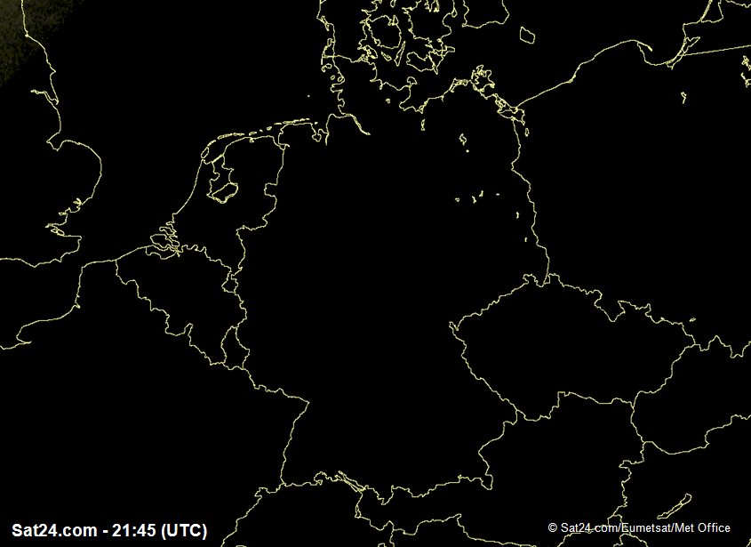 Meteosat - visible - Alemania
