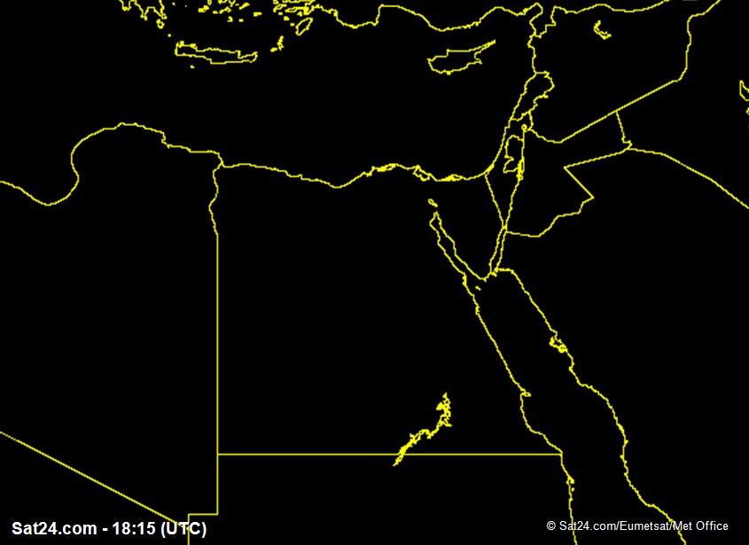 Meteosat - visível - Egipto