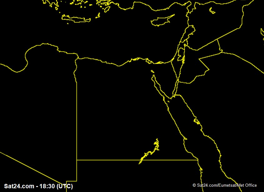 Meteosat - synlig - Egypt
