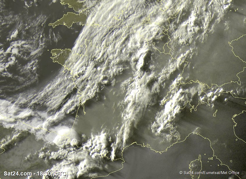 Meteosat - visible - France