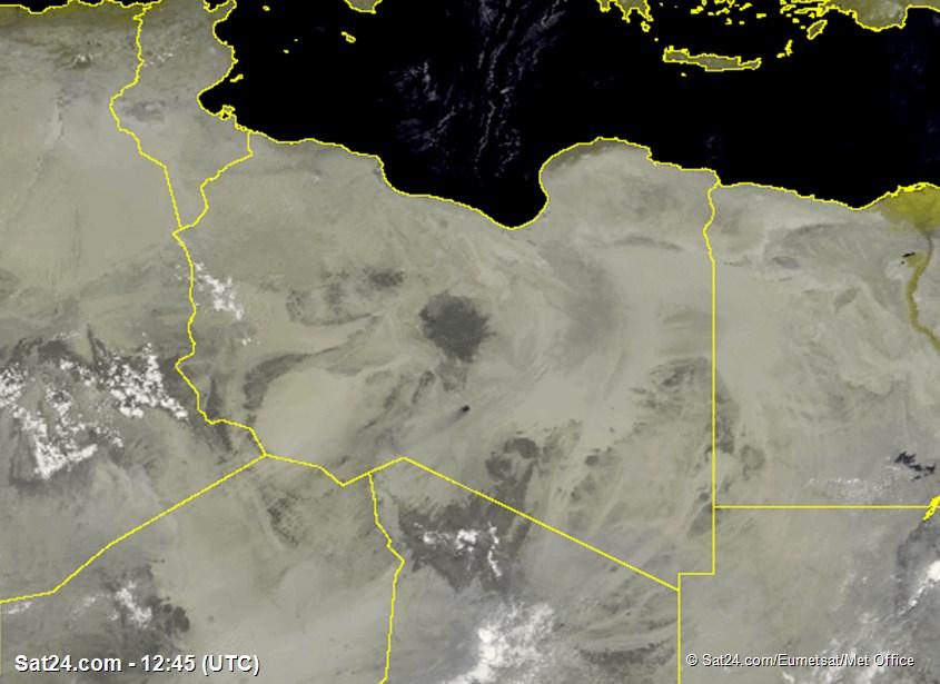 Meteosat - 가시 - 리비아