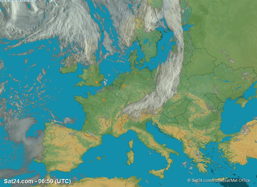 Weather The Baltic Area Satellite Weather The Baltic Area Weather